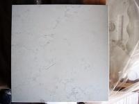 BIANCO PERLINO 1^scelta<br />marmette levigate e bisellate<br />Formato: cm. 30,5x30,5x1<br />Quantità: mq.70,00<br />Prezzo: Euro 30,00/mq
