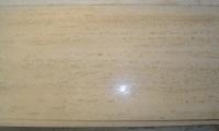 TRAVERTINO ROMANO CLASSICO 1^scelta<br />marmette stuccate, lucide e bisellate<br />Formato: 30,5x30,5x1 cm<br />Quantità: 111,60 mq<br />Prezzo: € 33,00/mq