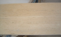 TRAVERTINO ROMANO CLASSICO 1^scelta<br />marmette stuccate, patinate e bisellate<br />Formato: cm. 30,5x30,5x1<br />Quantità: mq.55,80<br />Prezzo: Euro 35,00/mq
